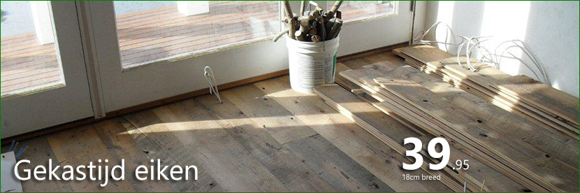 houten vloeren zijn er te kust en te keur bij de Vloerderij.