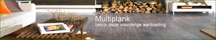 Houten vloeren zijn er ook in multiplanken verlijmd op een stevige Berken multiplex.