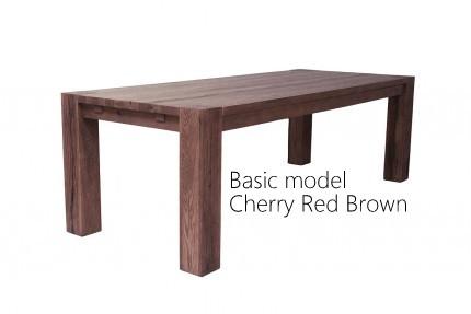 Eikenhouten tafels super bourgondisch bij de vloerderij