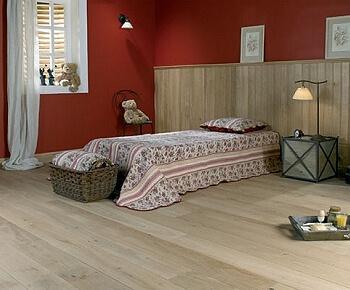 Houten vloer voor in de slaapkamer - De Vloerderij houten vloeren