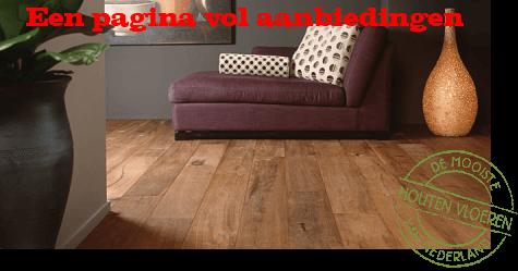 Houten vloeren aanbiedingen super scherp vloerderij de