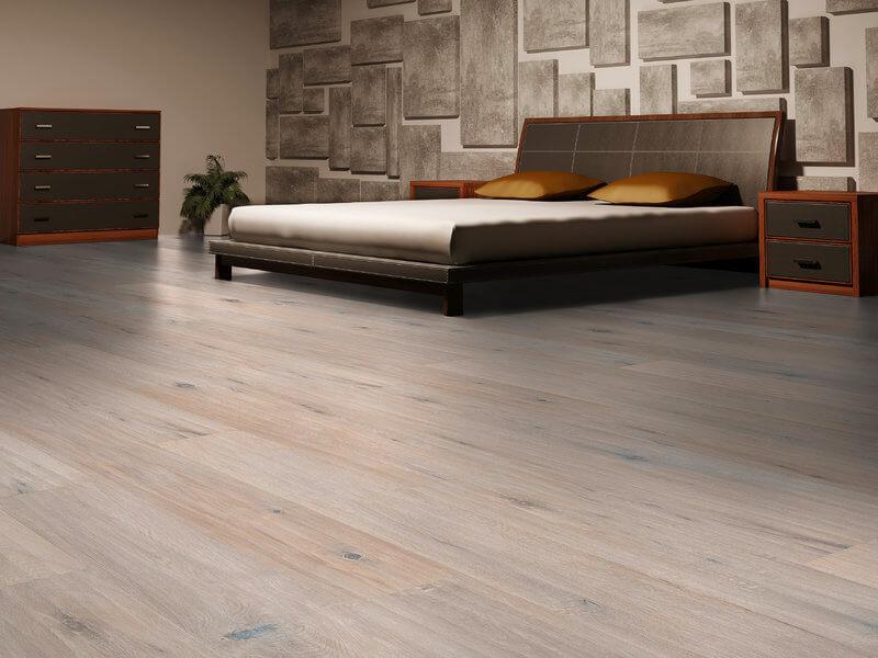 Witte eiken vloer heel erg trendy hoor de vloerderij for Witte vloer