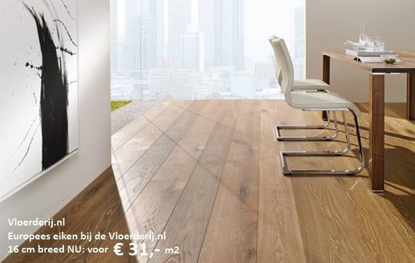 Europees eiken - De Vloerderij houten vloeren