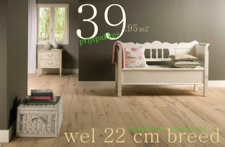Massief eiken houten vloeren op aanvraag de vloerderij