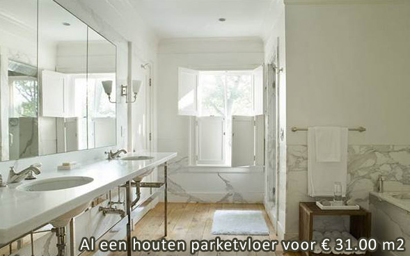 Toonzaal Badkamer Te Koop ~   badkamer Houten parket zoals multiplanken zijn zeer geschikt voor dit