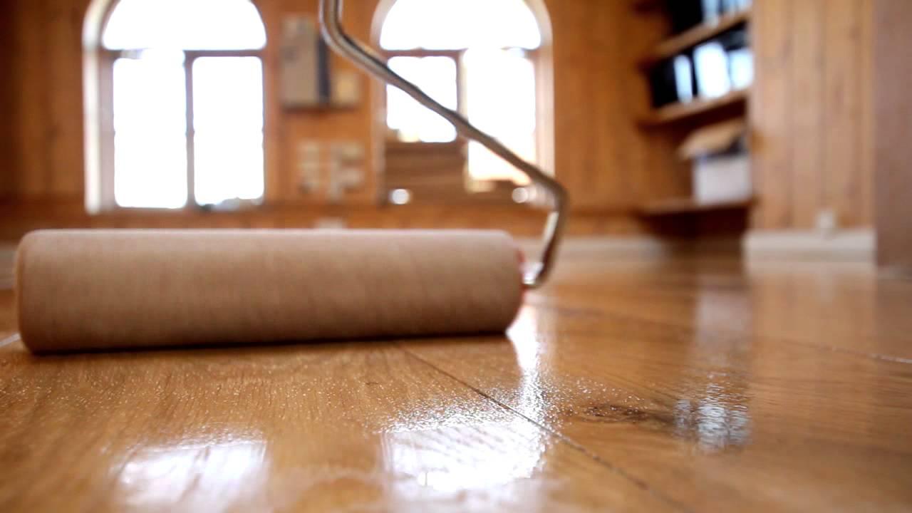 Houten vloer lakken super soepel geprijsd de vloerderij